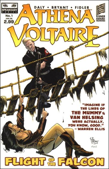 Athena Voltaire: Flight of the Falcon 1-A by Speakeasy Comics
