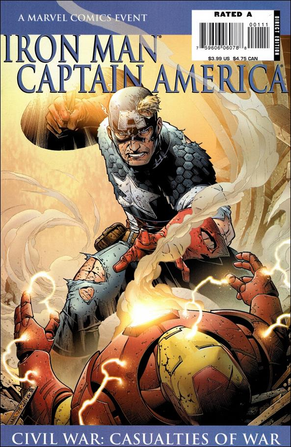 Iron Man/Captain America: Casualties of War 1-B by Marvel