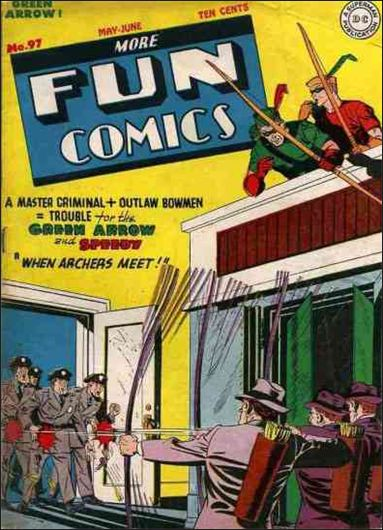 More Fun Comics 97-A by DC
