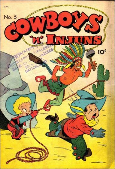 Cowboys 'N' Injuns (1946) 5-A by Magazine Enterprises