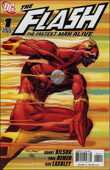 Flash: The Fastest Man Alive 1-B by DC