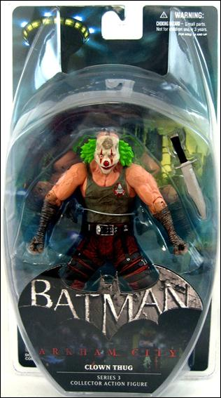 Batman: Arkham City (Series 3)  Clown Thug (Green Hair) by DC Collectibles