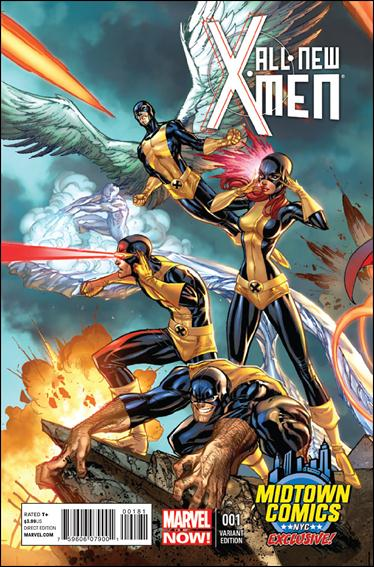 All-New X-Men 1-J by Marvel
