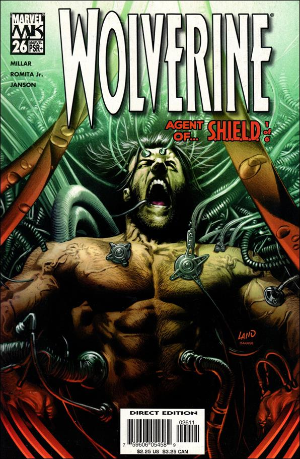 Wolverine (2003)  26-A by Marvel