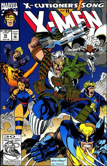X-Men (1991) 16-B by Marvel
