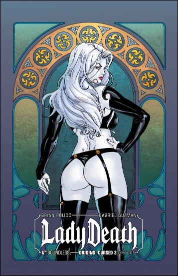 Lady Death Origins: Cursed 3-C by Boundless Comics