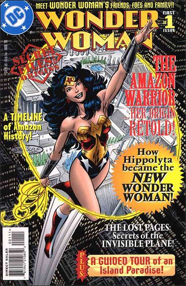 Wonder Woman: Secret Files and Origins 1-A by DC