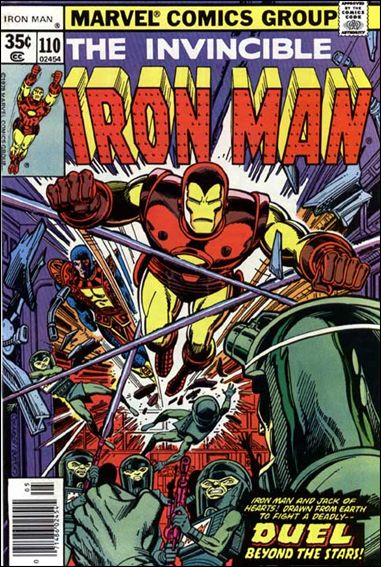 Iron Man (1968) 110-A by Marvel