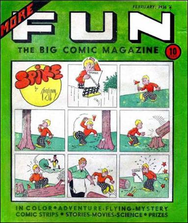 More Fun Comics 8-A by DC