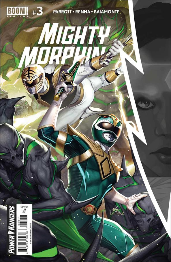 Mighty Morphin 3-A by Boom! Studios