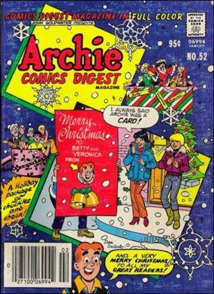 Archie Comics Digest Magazine 52-A