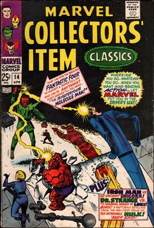 Marvel Collectors' Item Classics 14-A