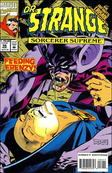 Doctor Strange, Sorcerer Supreme 56-A by Marvel