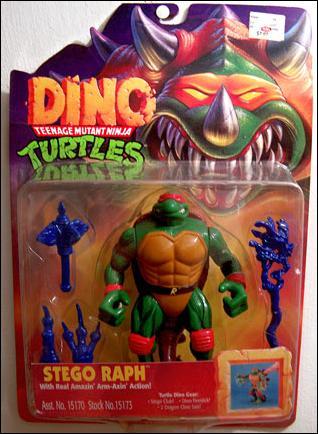 Teenage Mutant Ninja Turtles: Dino Stego Raph by Playmates