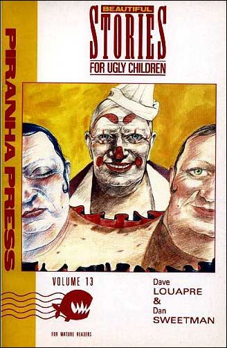 Beautiful Stories for Ugly Children 13-A by Piranha Press