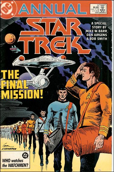 Star Trek Annual (1984) 2-A by DC