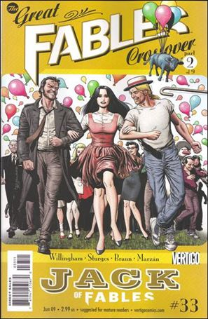 Jack of Fables 33-A