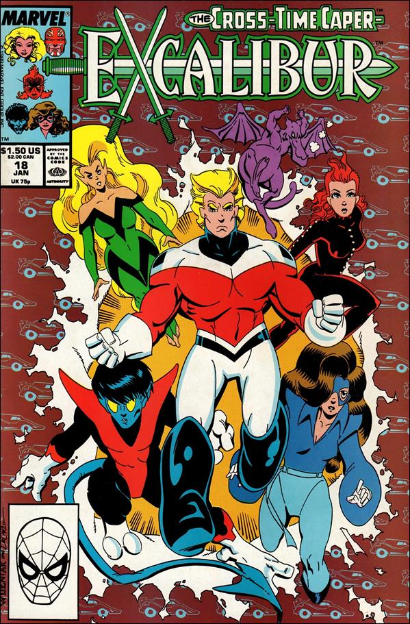 Excalibur (1988) 18-A by Marvel