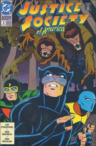 Justice Society of America (1992) 3-A by DC