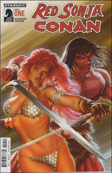 Red Sonja / Conan 1-A by Dynamite Entertainment