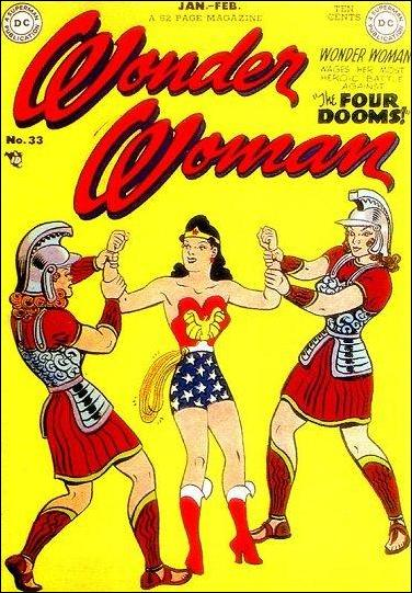 Wonder Woman (1942) 33-A by DC