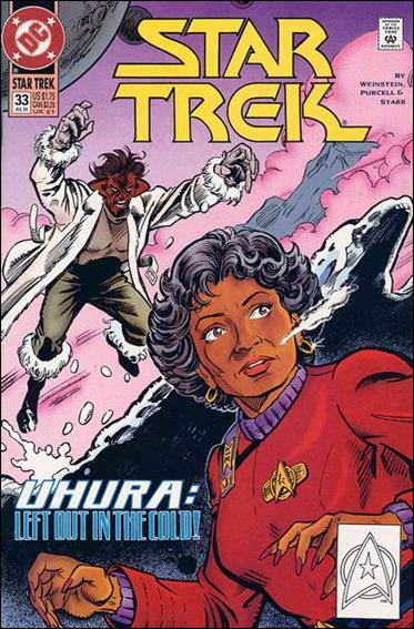 Star Trek (1989) 33-A by DC