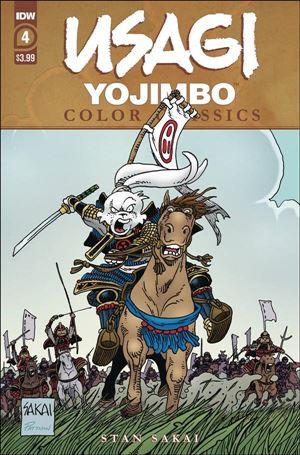 Usagi Yojimbo Color Classics 4-A