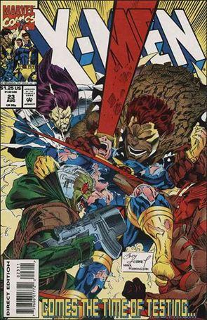 X-Men (1991) 23-A