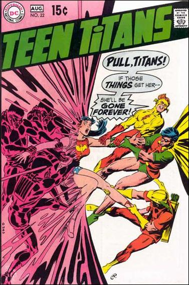 Teen Titans (1966) 22-A by DC