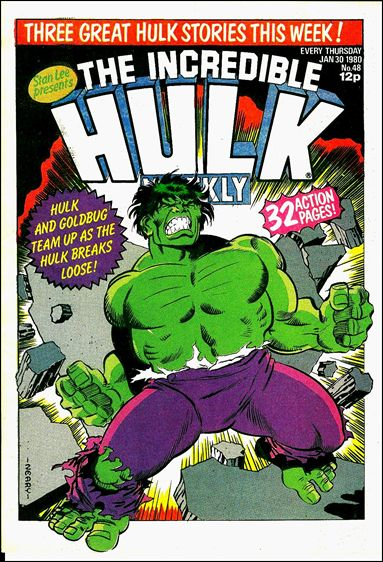 Hulk Comic (UK) 48-A by Marvel UK
