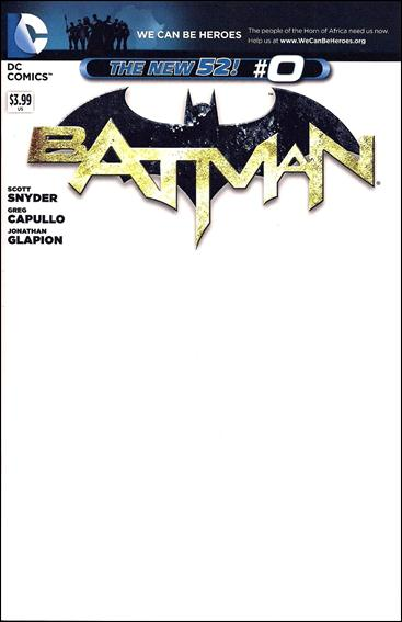 Batman (2011) 0-E by DC