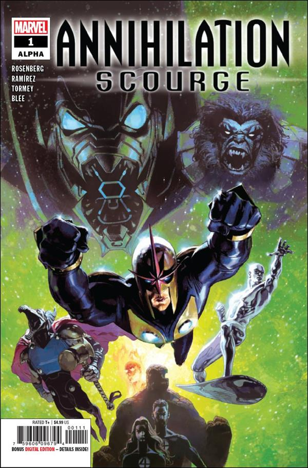 Annihilation: Scourge Alpha 1-A by Marvel