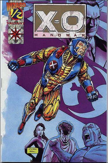 X-O Manowar (1992) 1/2-B by Valiant