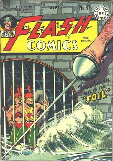 Flash Comics (1939) 87-A by DC