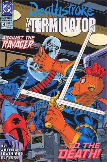 Deathstroke, the Terminator 4-A by DC