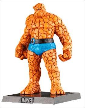 Classic Marvel Figurine Collection (UK) The Thing by Eaglemoss Publications