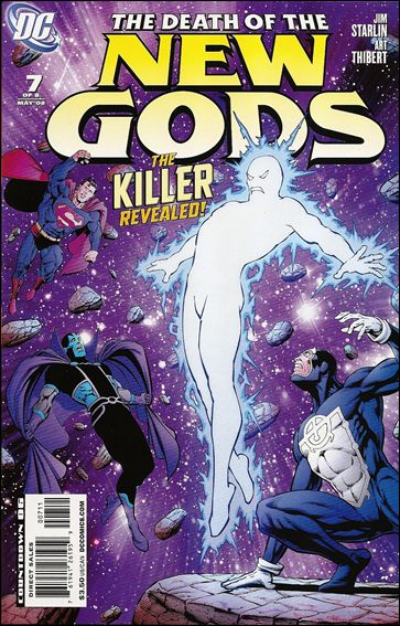 Death of the New Gods 7-A by DC