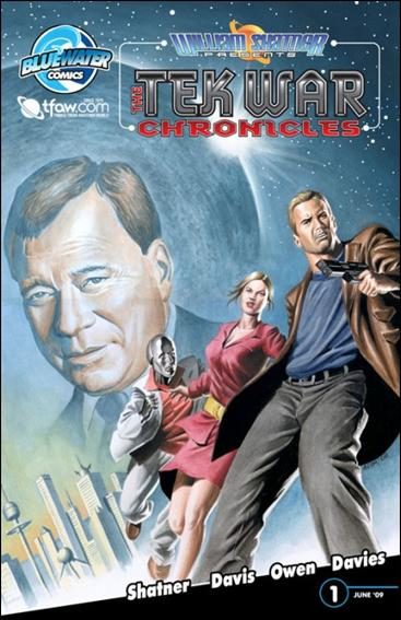 William Shatner Presents: The Tek War Chronicles 1-D by Bluewater Comics