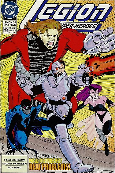 Legion of Super-Heroes (1989) 45-A by DC