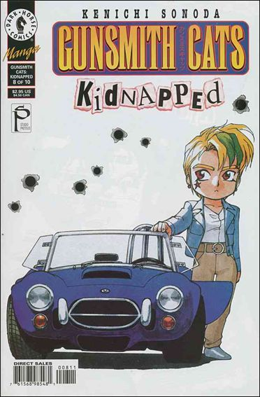 Gunsmith Cats: Kidnapped 8-A by Dark Horse