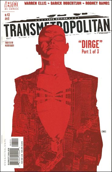 Transmetropolitan 43-A by Vertigo