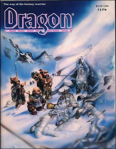 Dragon Magazine 178-A by Wizards of the Coast