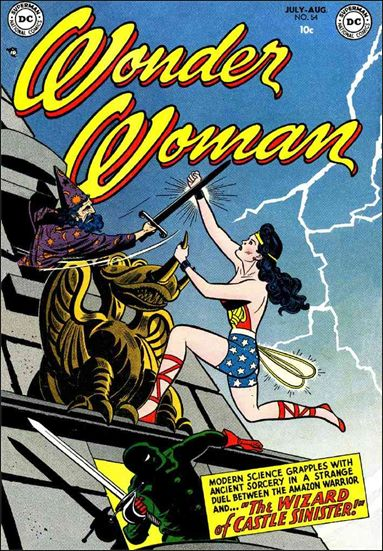Wonder Woman (1942) 54-A by DC