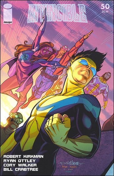 Invincible 50-B by Skybound Entertainment