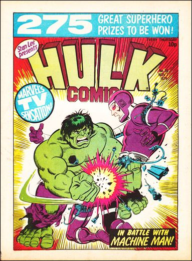 Hulk Comic (UK) 36-A by Marvel UK