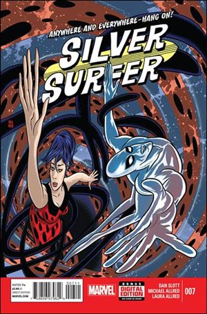 Silver Surfer (2014) 7-A