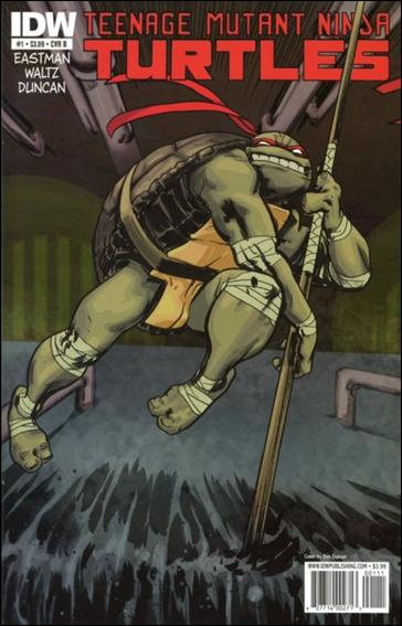 Teenage Mutant Ninja Turtles (2011) 1-B by IDW