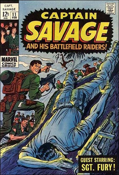 Captain Savage  11-A by Marvel