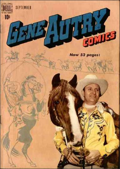 Gene Autry Comics (1946) 31-A by Dell