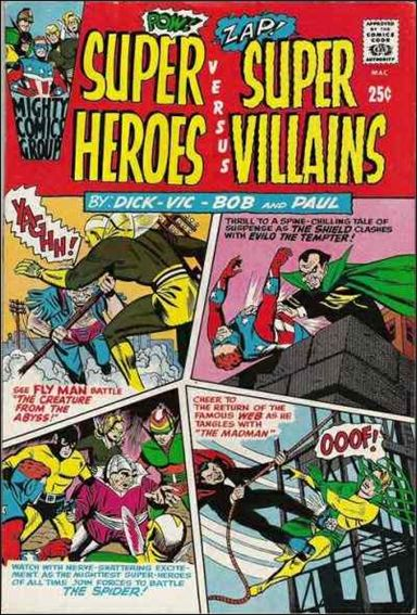 Super Heroes Versus Super Villains 1-A by Archie